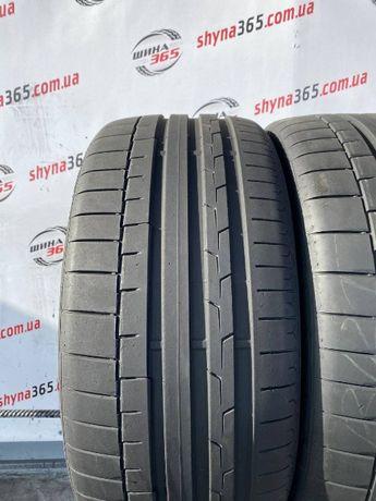 літні шини 255/40 R19 CONTINENTAL SPORTCONTACT 6 (Протектор 6.5mm)
