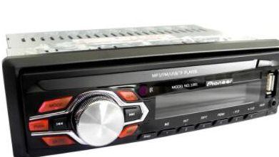 Автомагнитола 1DIN MP3-1091 съемная панель