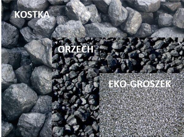 Węgiel KWK  Bobrek  orzech I, kostka  Orzech II