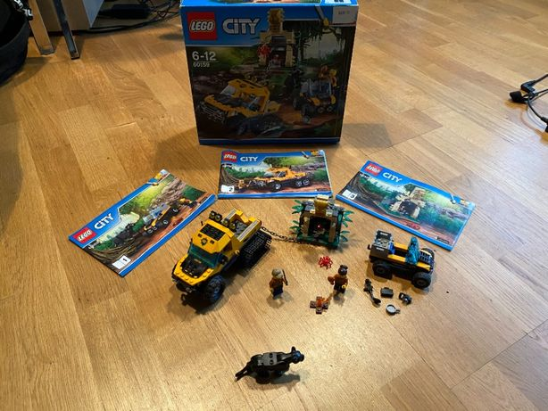 Zestaw Lego City 60159 Misja półgąsienicowej terenówki UNIKAT