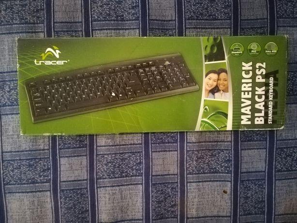 Klawiatura Tracer Maverick Black PS2