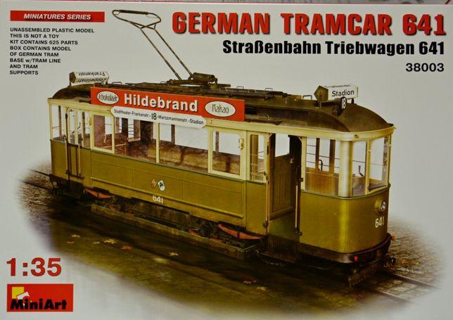 Сборная модель трамвая 1:35 MiniArt 38003
