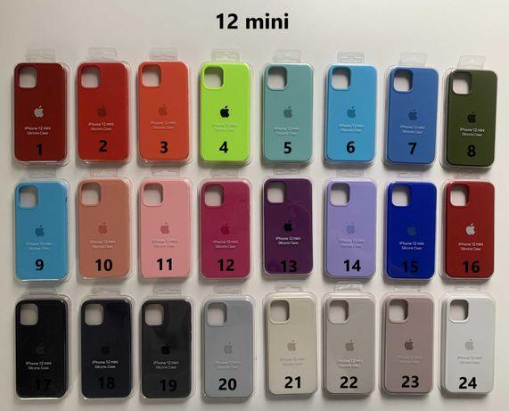 Apple Case Silikonowe Etui iPhone 11/ 12/ 12 mini/13/ XS/XR/ SE2020
