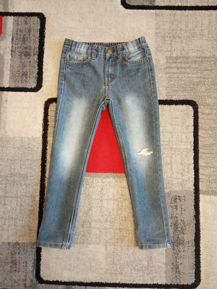 Spodnie jeansowe r. 122 dla chłopca f. Kik Jelenia Góra - image 1