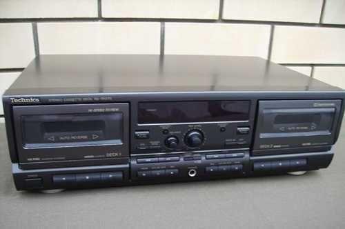 Двухкассетная дека Technics RS -TR575 (черный)