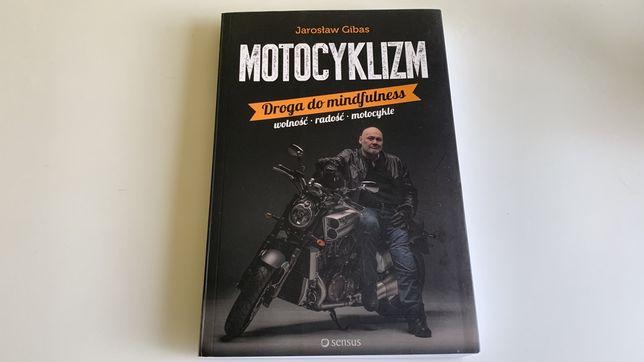 """Jarosław Gibas """"Motocyklizm"""", rok 2016, okładka miękka, stan dobry."""