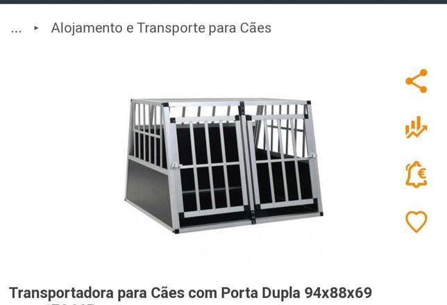 Transportadora para cães como nova