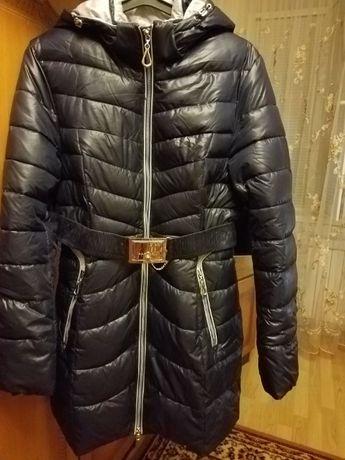 Продам болонье пальто на синтепоне