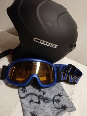 kask narciarski, snowboard CEBE rozm.54 cm small