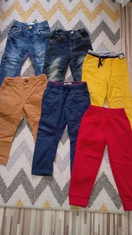 Spodnie jeansowe dresowe 92
