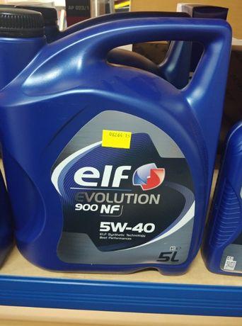 Olej silnikowy ELF 5W40 NF 5L