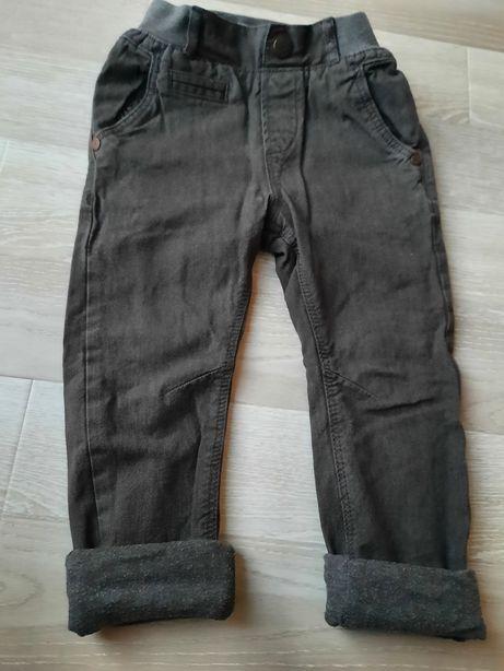 Брюки чиносы штаны next на подкладке, размер 2-3, 98 см