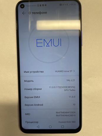 Телефон Huawei nova 5T