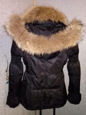 Tulen. Зимняя куртка, Пуховик натуральный мех. Курточка демисезонная.