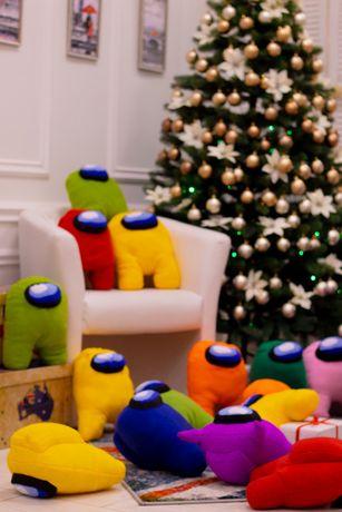 Амонги в наличии, Мягкая игрушка амонг Ас, Игрушка Among Us, подарок