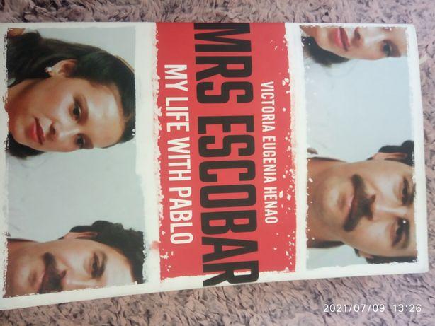 Роман- автобіографія вдови Пабло Ескобара англійською мовою