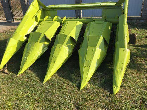 Жатка кукурузная Claas 4 рядная приставка для кукурузи з подрібнюваче