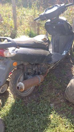 Скутер кануне 150к