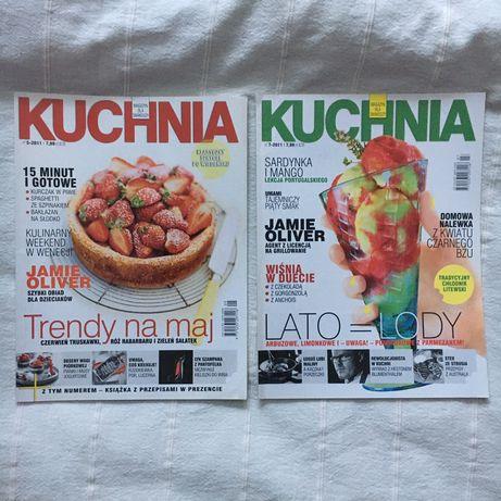 Magazyn dla smakoszy Kuchnia nr 5 i 7 rok 2011