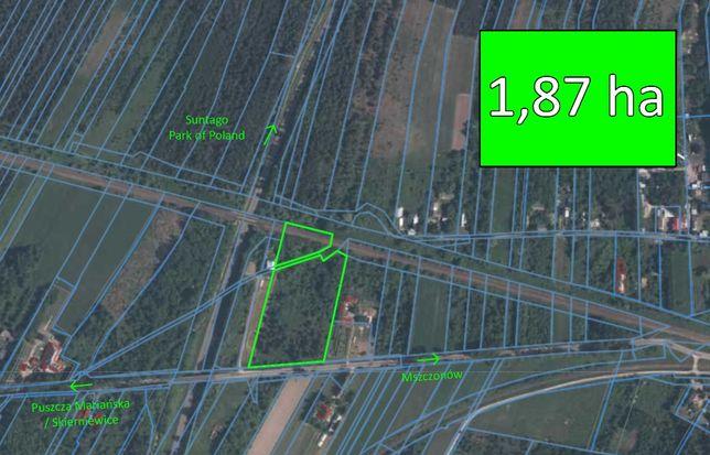 Działka pod inwestycję w okolicy Suntago Park of Poland