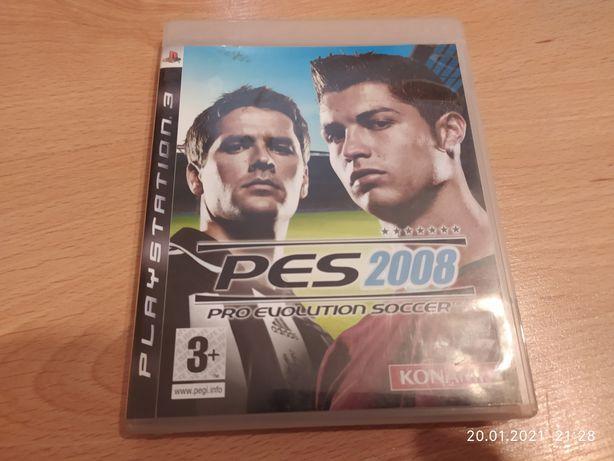 Sprzedam grę na PlayStation 3 PES 2008