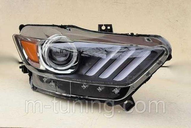 (цена за две) Предние фары Ford Mustang 6 (2015-2017) фара фари оптика