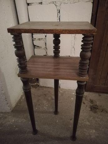 Szafka komoda konsola drewniana retro vintage prl