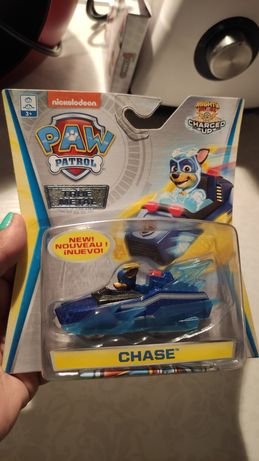 CHASE Charged Mighty Pups Auta Pies Psi Paw Patrol unikalny model