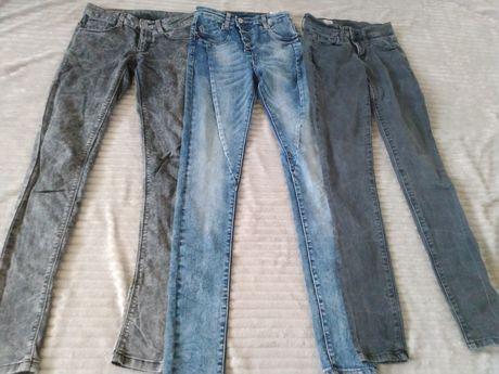 Zestaw jeansów 32/34