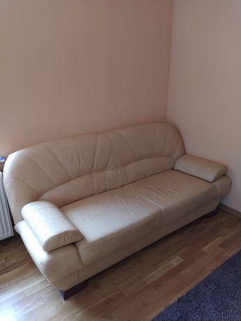 Łóżko sofa wersalka ekoskóra rozkładana stan bardzo dobry 120x200cm