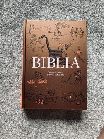 Biblia duża - elegancki prezent