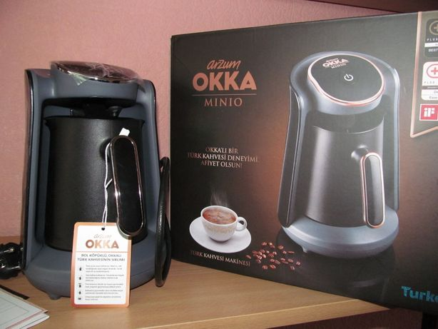 Кофеварка для турецкого кофе Arzum OKKA minio Хром