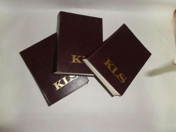 3 Dicionários Enciclopédicos KLS
