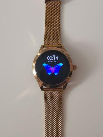 Smartwatch złoty damski