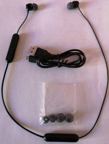 Auriculares Sony WI-C300 Sem Fios Bluetooth/NFC Pretos como Novo