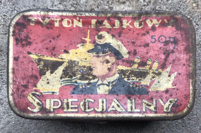 Stare pudełko dla kolekcjonera Tytoń fajkowy