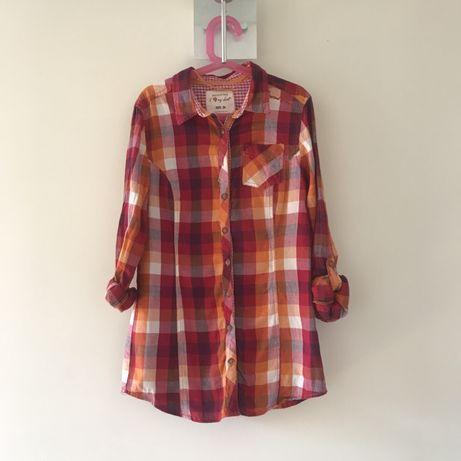 koszula w kratę Reserved XS/34