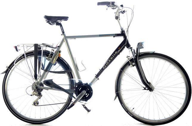 Rower Męski Trekkingowy - Miejski Holenderski Gazelle Medeo 61 cm