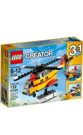 Lego Creator 31029  Samoloty i statek 3w1