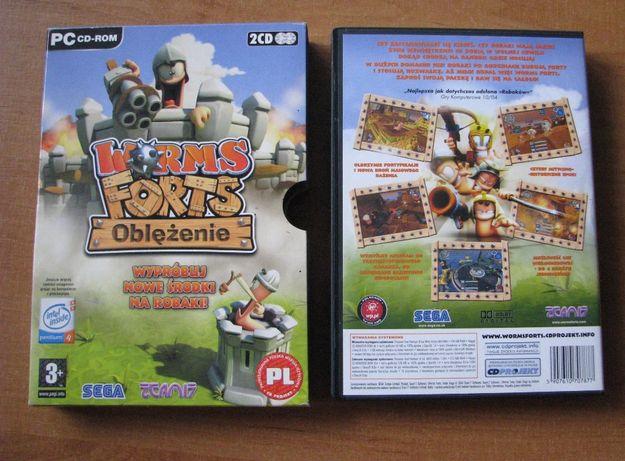 Worms Forts. Oblężenie- kultowa gra PC