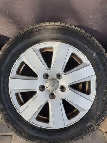 """Felgi Audi 16 """" 5x112 opony zima"""