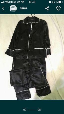 Victoria secret , intimissimi, vero moda атлас костюм (подшелк) пижама