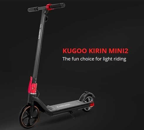 KUGOO KIRIN Mini 2 Складной Электроскутер для детей