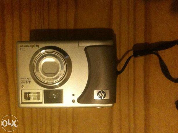 Máquina Foto HP Photosmart 735 (3,2MP 15xzoom) - Nova