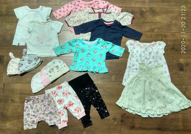 Пакет вещей для малышки 0-3 месяца! Но мы носили дольше:)