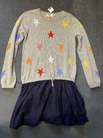 Трикотажное платье для девочки Gap 10 лет рост134-150