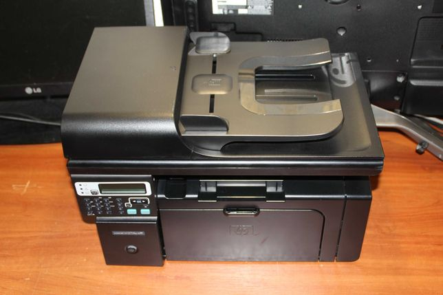 HP LaserJet Pro M1217nfw. Wi-Fi/USB/Ethernet, пробег 1100 страниц