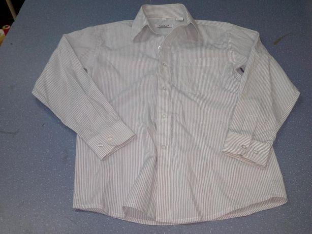 Продам белую в полосочку рубашку для мальчика