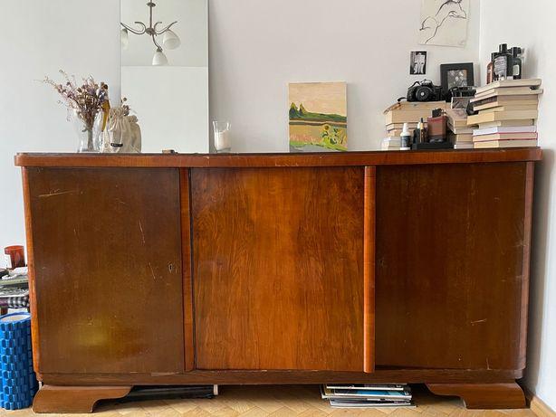 Stara, duża, drewniana komoda vintage