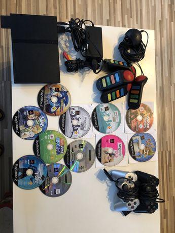 PlayStation 2 duży zestaw